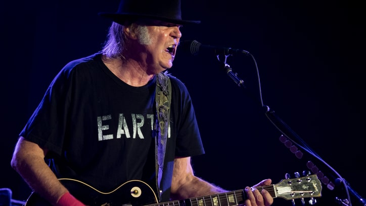 Watch Neil Young Perform With Orchestra in 'Who's Gonna Stand Up?' Video