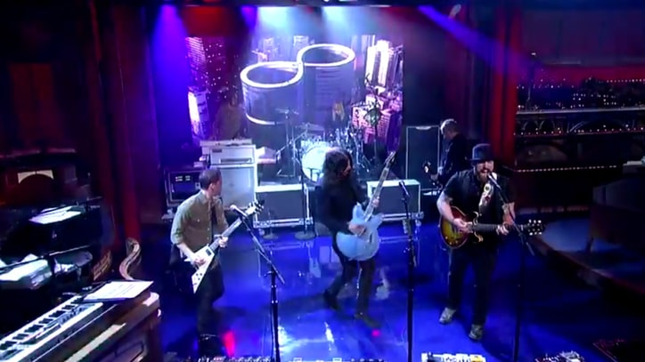 Watch Foo Fighters, Zac Brown Cover Black Sabbath on 'Letterman'