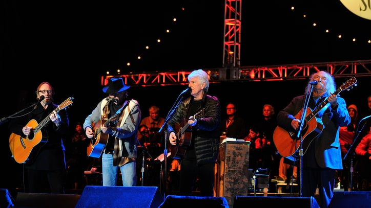 Flashback: CSNY Briefly Make Peace at the 2013 Bridge School Benefit