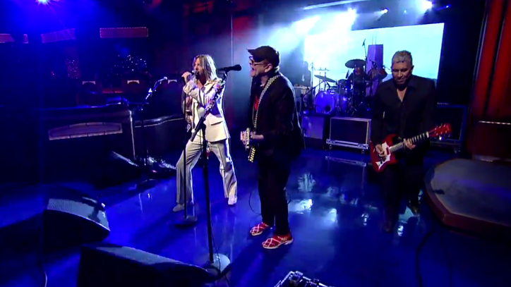 Foo Fighters, Cheap Trick's Rick Nielsen Face 'Stiff Competition' on 'Letterman'