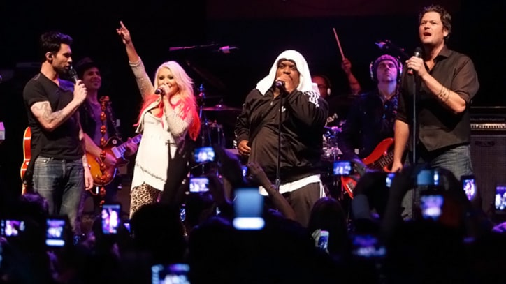 'The Voice' Top 12 Party and Perform at the House of Blues