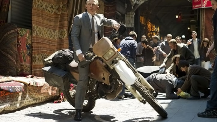 Box Office Report: 'Skyfall' Sets James Bond Franchise Record