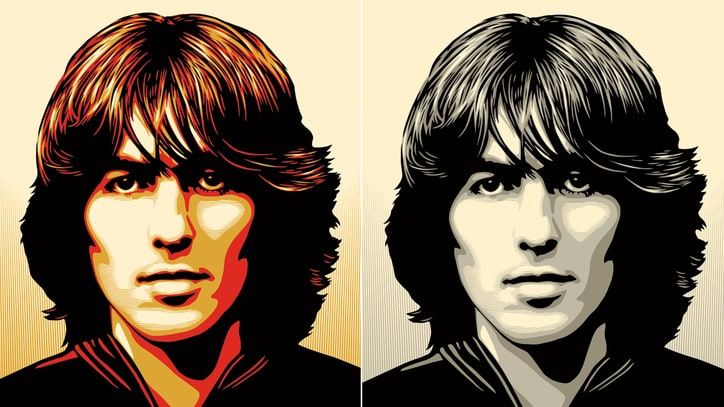 Shepard Fairey on George Harrison Poster: 'George Is a Hero'