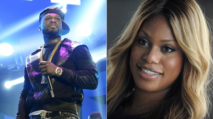 50 Cent, Laverne Cox Join Cyndi Lauper to Help LGBT Youth
