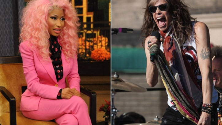 Nicki Minaj and Steven Tyler Trade Insults Over 'American Idol'