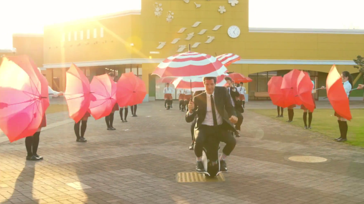 Watch OK Go Use Synchronized Umbrellas for Trippy New Video