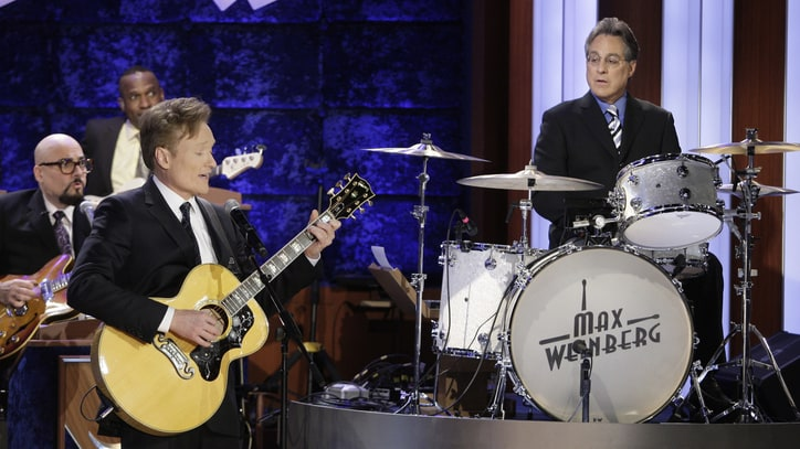 Watch Conan O'Brien and Max Weinberg Reunite on 'Conan'