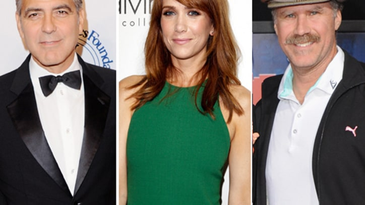 George Clooney, Will Ferrell, Kristen Wiig Among Golden Globe Presenters