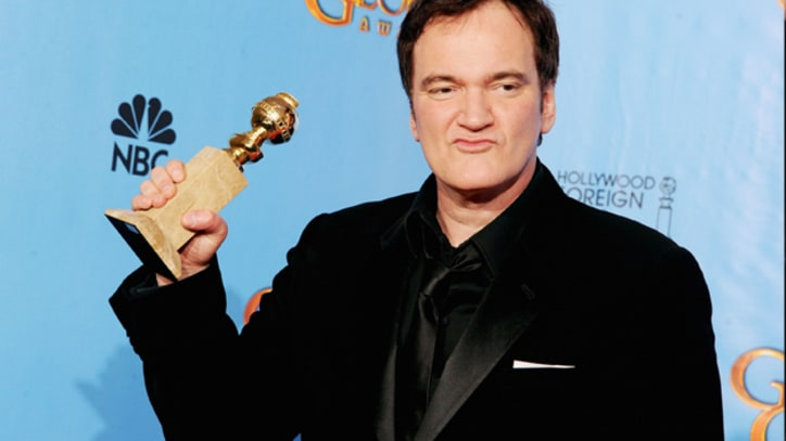 Quentin Tarantino Uses N-Word Backstage at Golden Globes