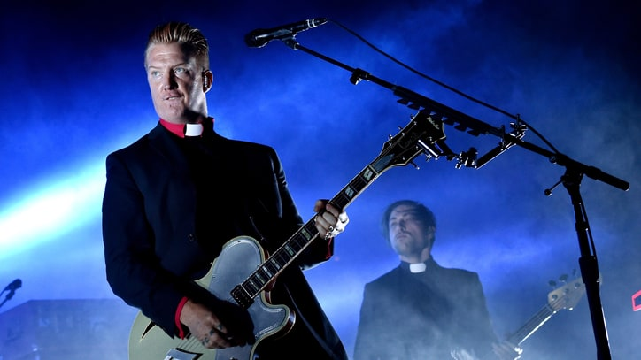 Queens of the Stone Age Reunite With Nick Oliveri at Halloween Gig