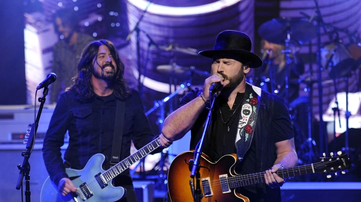 Zac Brown Plays Late-Night Jam With Foo Fighters in Nashville