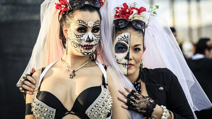 EDM Gets Dressed Up, Turnt Up for Hard's Day of the Dead Fest 2014