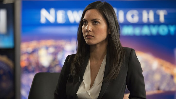 Olivia Munn Talks End of 'The Newsroom' and Rise of Geek Culture