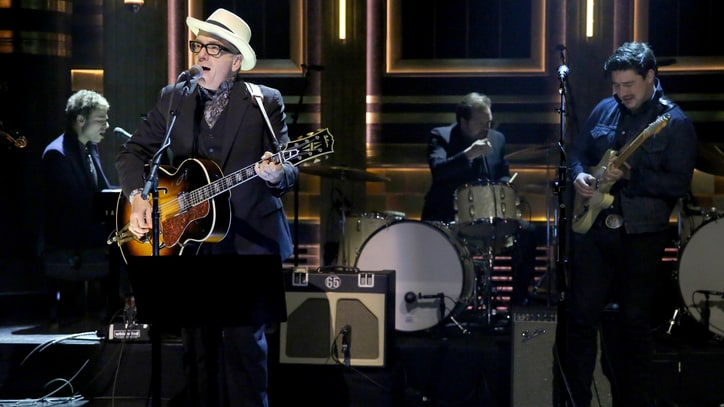 Elvis Costello and the New Basement Tapes Get 'Lost on the River' on 'Fallon'