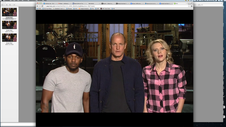 Watch Kendrick Lamar Get a Woody Harrelson Piggyback in 'SNL' Promo