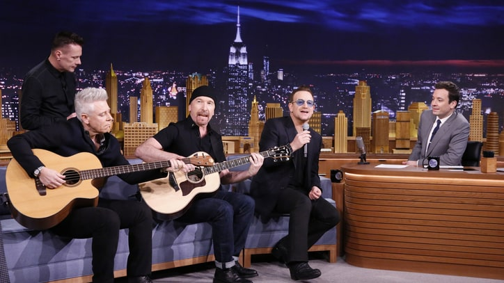 U2 Postpone 'Jimmy Fallon' Residency Following Bono Injury