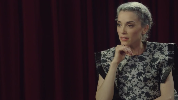 Watch St. Vincent Receive Awful Media Tips From 'SNL's Vanessa Bayer