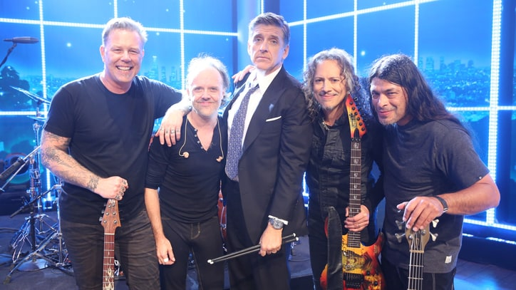 See Metallica Storm 'Late Late Show' With Classic 'Hit the Lights'