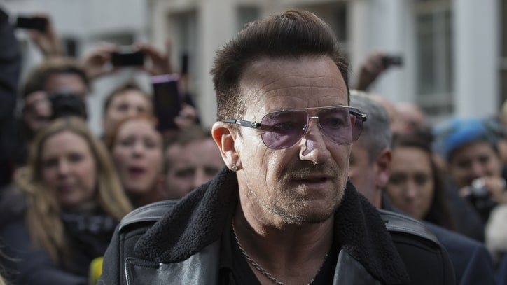 Bono Treated With Metal Plates, 'Intensive Therapy' After Bike Injury