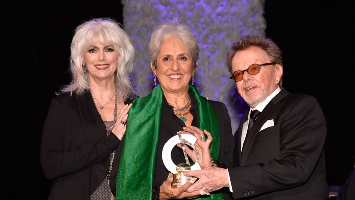 Emmylou Harris Talks Influence of Joan Baez, Reveals New Album Details