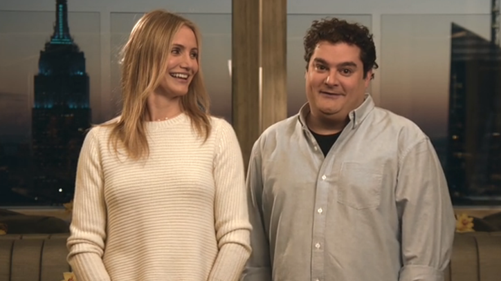 Cameron Diaz Refutes Bobby Moynihan's Romantic Claims in 'SNL' Promo