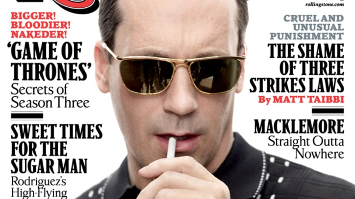 Cover Story Excerpt: On the Set of 'Mad Men' with Jon Hamm