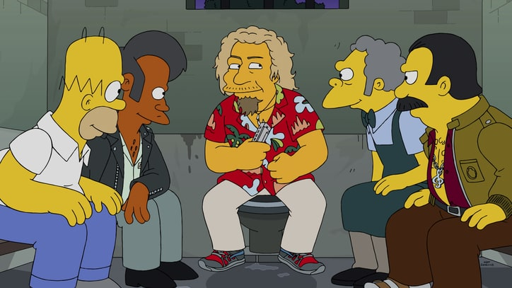 Watch an Exclusive Preview of Sammy Hagar on 'The Simpsons'