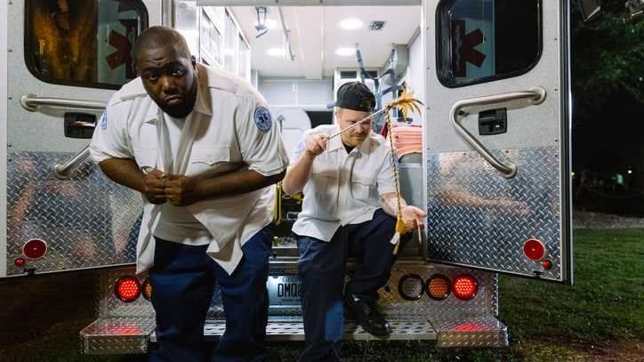 Run the Jewels Slack Off as EMTs in Hilarious 'Blockbuster Night Part 1' Video