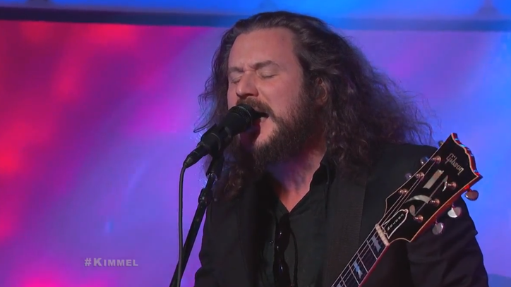 Jim James and the New Basement Tapes Play Swinging 'Nothing to It' on 'Kimmel'