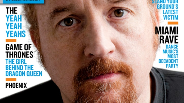 On the Cover: The Dirty Wisdom of Louis C.K.