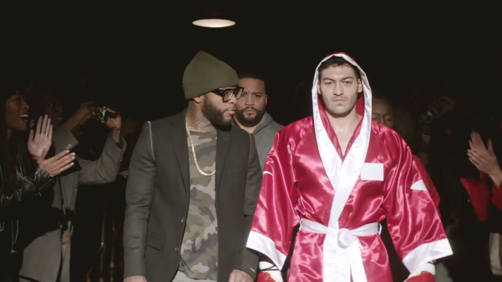 Watch Eminem's Inspirational, Boxing-Themed 'Guts Over Fear' Video