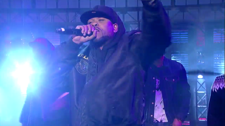 Watch Wu-Tang Clan Crash 'Letterman' With 'Ruckus in B Minor'