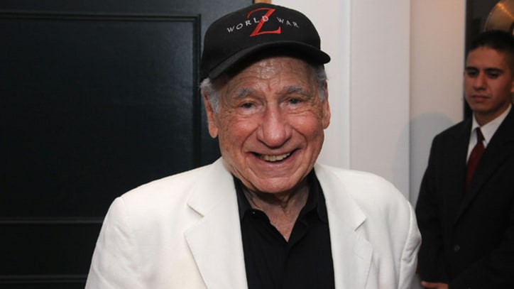 Mel Brooks Kicks Off Twitter's #Comedyfest With Judd Apatow