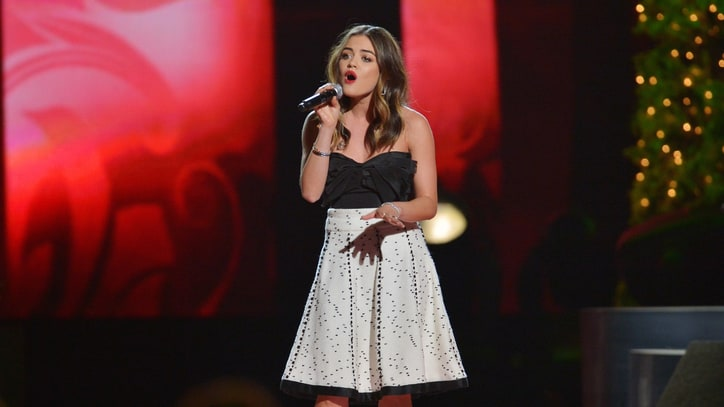 Lucy Hale Announces 2015 Tour and Talks 'Blood, Sweat and Tears' of 2014