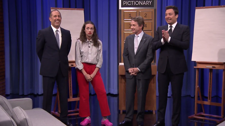 Watch Jimmy Fallon, Jerry Seinfeld and Martin Short Fail at Pictionary