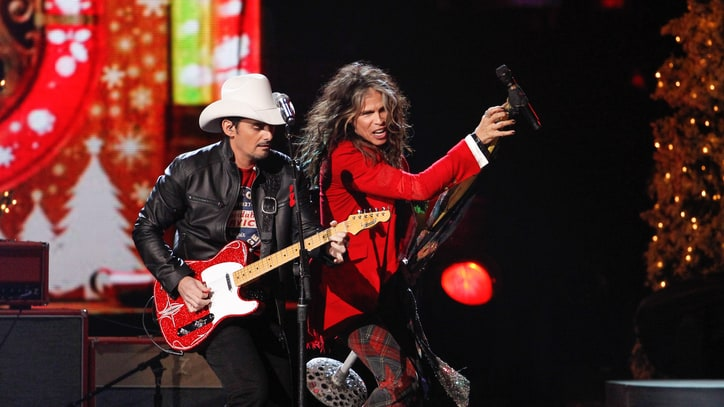 Watch Steven Tyler 'Run' With Brad Paisley on 'CMA Country Christmas'