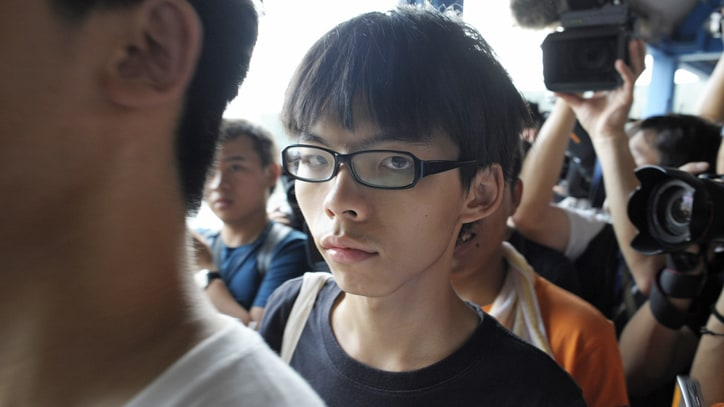 Meet the Face of Hong Kong's Occupy Movement: Joshua Wong