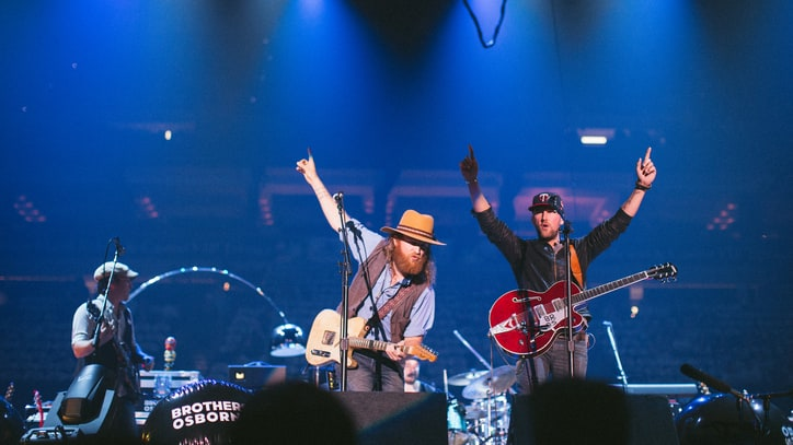 The 'Rum' Diaries: Exclusive Photos of Brothers Osborne on Tour With Eric Church