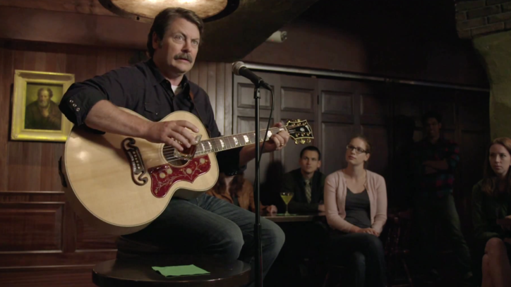 Nick Offerman Exalts Whisky in New Song