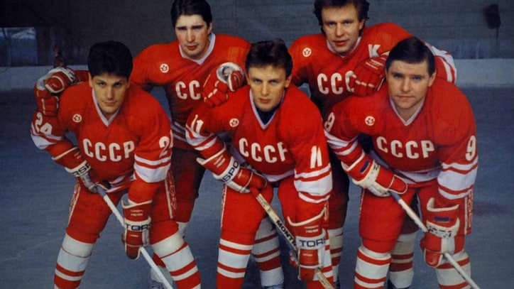 A Look Behind Hockey's Iron Curtain