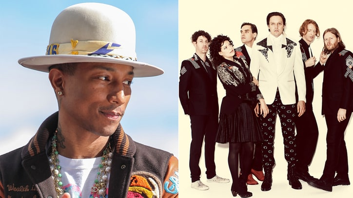 Arcade Fire, Pharrell, Sia Snag Best Music Video Grammy Nominations