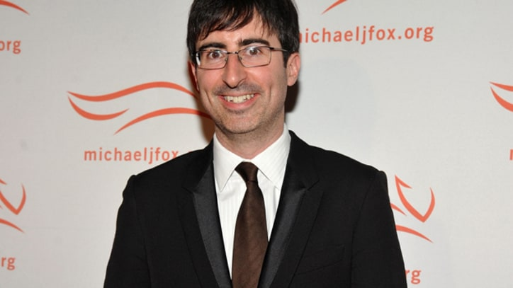 Q&A: John Oliver on Stepping In, Panicking as Host of 'The Daily Show'