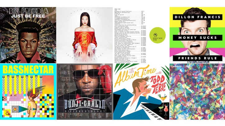 20 Best EDM, Electronic and Dance Albums of 2014