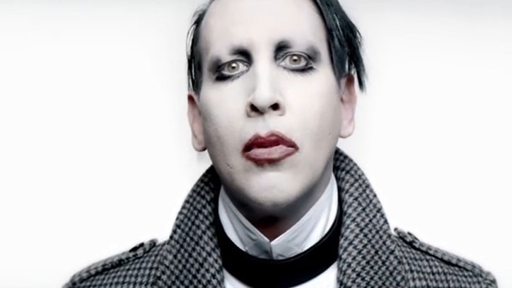 See Marilyn Manson's Unsettling, Phallic 'Deep Six' Video