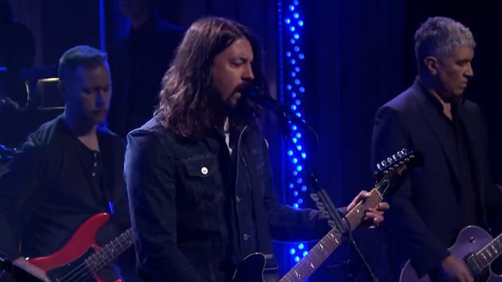 See Foo Fighters Lead Orchestra in Dramatic 'I Am a River' for 'Fallon'