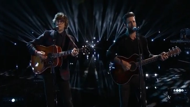 Adam Levine Talks 'Lost Stars' Performance From 'Voice' Finale