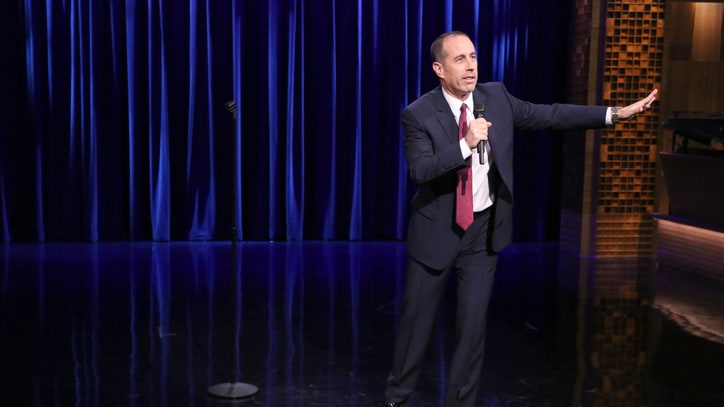 Watch Jerry Seinfeld's Hilarious 'Tonight Show' Stand-Up