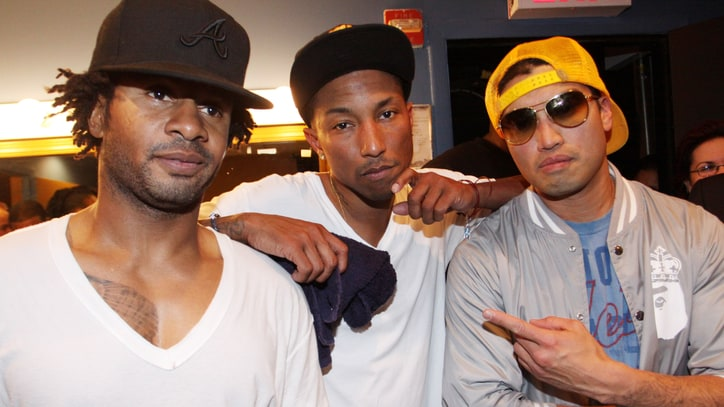Pharrell Reunites With N.E.R.D. for 'Squeeze Me'