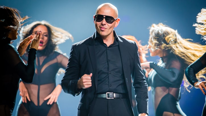Pitbull Talks Partying in Space, Making History on Earth