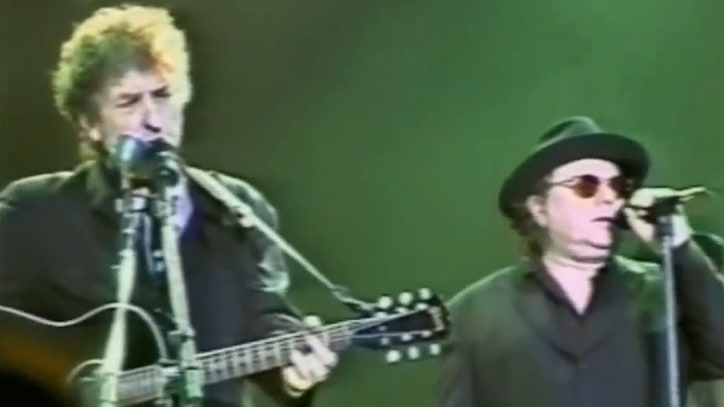 Flashback: Bob Dylan Sings 'Knockin' on Heaven's Door' With Van Morrison